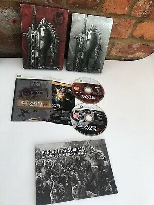 Xbox 360 Gears of War 2 (GOW) Limited Special Steelbook Edition