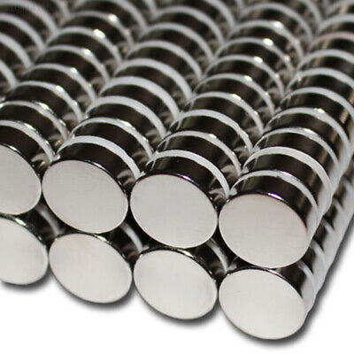 2106 Neodymium Magnets Silver Magnetic Stone Round New 5*30mm