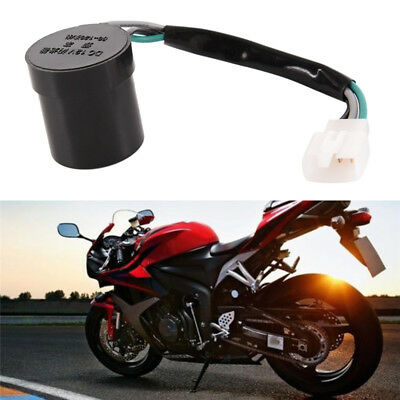 Blinker Turn Signal Flasher/Relay Round 12V 3Wire Scooter 50cc 125cc 150cc LI