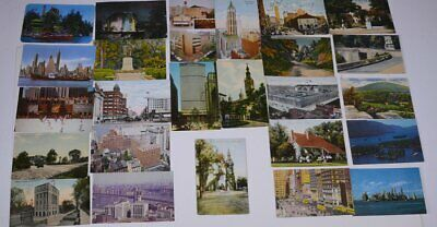 Lot of (25) 1908 Vintage New York City Aurora, Newburg, Catskill Mtns Postcards
