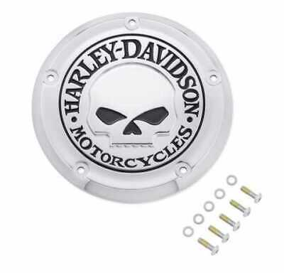 HARLEY DAVIDSON Willie G Skull Derby Cover P/N 25700958