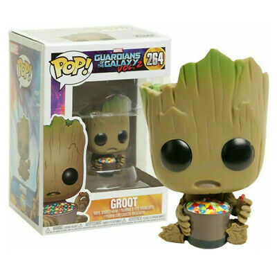 Guardians of the Galaxy Vol 2 Groot with candy Bowl Funko POP Figure Toy Gift