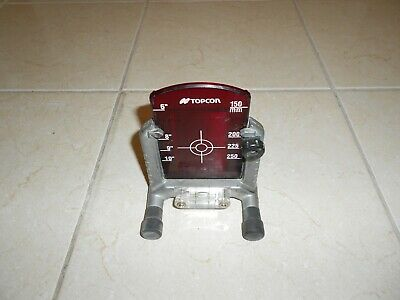 Trimble Spectra Precision Dg 511 Dg 711  Sewer Pipe Laser Target And Stand