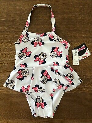 35e817c4c4d94 Old Navy Disney Toddler Girls Minnie Mouse One-Piece Bathing Swim Suit 5T -  NWT
