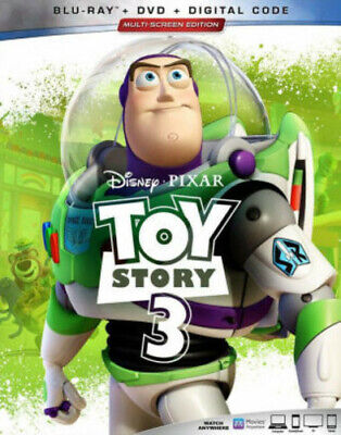 Toy Story 3 [New Blu-ray] With DVD, 2 Pack, Ac-3/Dolby Digital, Digital Copy,