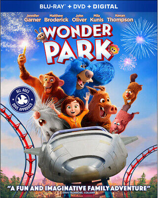 Wonder Park [New Blu-ray] With DVD, 2 Pack