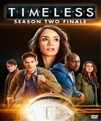 Timeless: Season 02 - Finale [New DVD] Ac-3/Dolby Digital, Dubbed, Subtitled,
