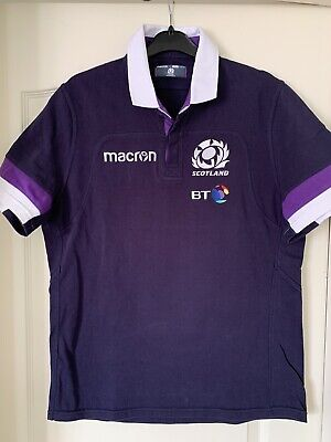 SCOTLAND Jersey Maillot Maglia Polo Rugby  M Ecosse Stade Toulousain Racing