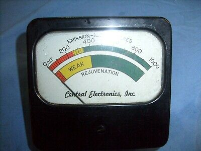 "Central Electronics ""Rejuva-Tube"" CRT Rejuvenator RE-1  PANEL METER"