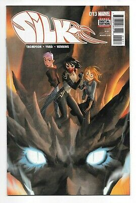 Marvel Comics SILK #13 first printing