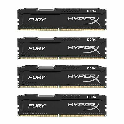Lot 8GB 16GB DDR4 288PIN 1.2V 2133MHZ/2400MHZ New HyperX FURY Desktop Memory RAM