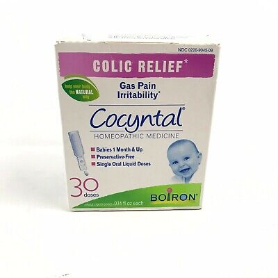 Boiron Cocyntal 30 Doses Homeopathic Medicine for Colic Relief New Exp 10/2019