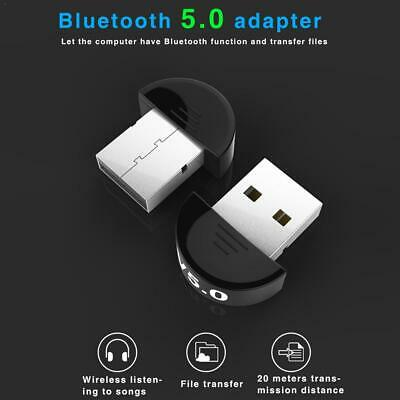 1PC Mini Wireless USB Bluetooth Adapter V5.0 Dongle Receiver For TV PC Speaker