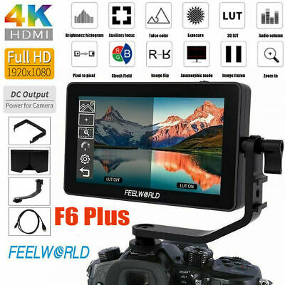 FEELWORLD F6PLUS 5.5inch IPS Touch Screen 1920*1080 Video DSLR On-Camera Monitor