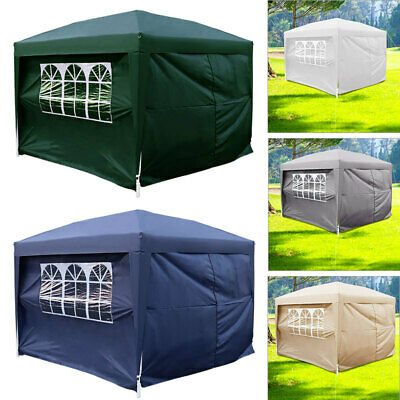 Waterproof 2Mx2M Outdoor Garden Gazebo Marquee Canopy Awning Wedding Party Tent