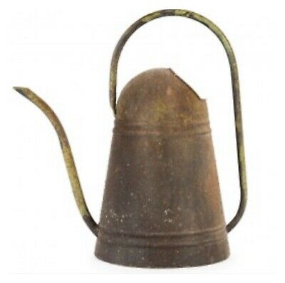 Rustic Watering Can Vintage Antique Metal French Farmhouse Country