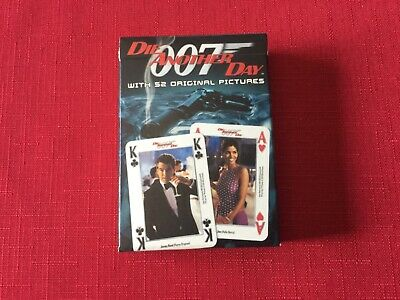 James Bond 007 Playing Cards Die Another Day By Carta