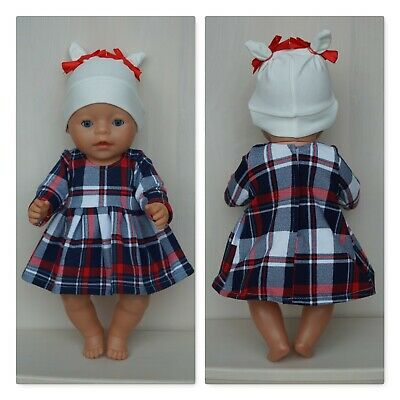 Handmade Clothes set for Baby Born or other doll till 43 cm, Zapf doll clothes
