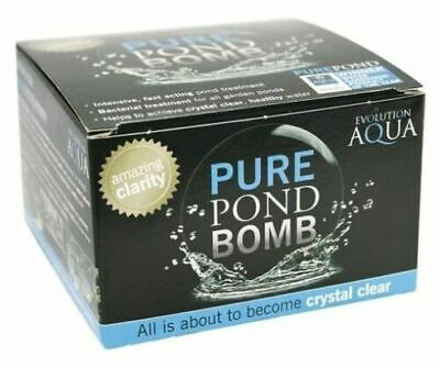 Evolution Aqua  Pure Pond Bomb (fast acting, bacterial treatment,health water)