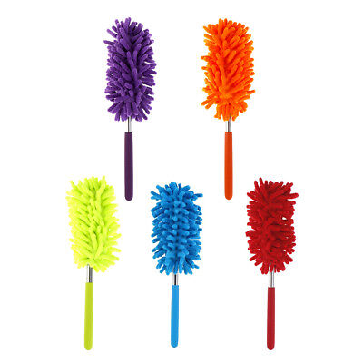 Useful Microfiber Duster Cloth Chenille Cleaning Dust Brush Car Cleaning Tool LI