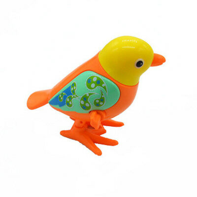 Cute Kids Jumping Bird Clockwork Wind Up Toy Color Random Early Educational Toy