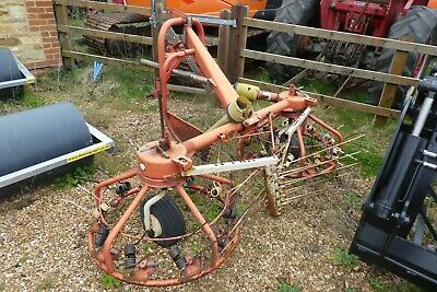 Pz Haybob Hay Turner Good Order Fits Your Tractor