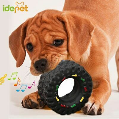 Dog Toys For Small Large Dogs Puppy Playing Training Squeaky Toy Tyre Pet Toy