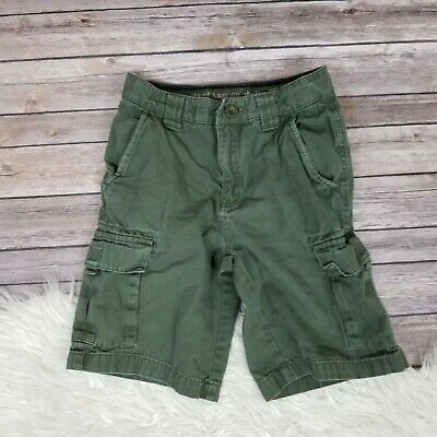 BOY SCOUTS OF AMERICA BSA Official Cargo Uniform Shorts Youth Size 10 Canvas