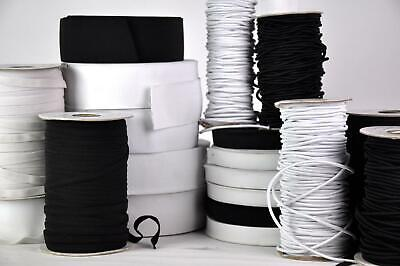 Household Elastic Band Fabric Rope Stretchy Cord Dress Maker Sewing DIY Crafts