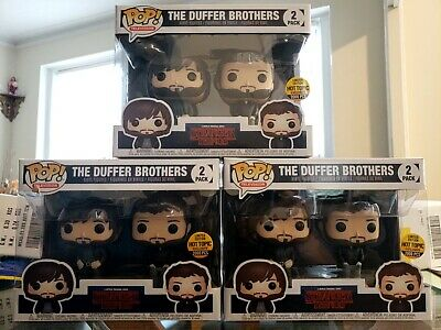 Funko Pop! Stranger Things The Duffer Brothers 2 Pack Hot Topic Exclusive