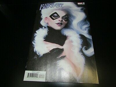 1st self-titled ongoing series!! NM-; Artgerm variant cover Black Cat #1
