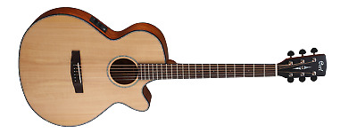 Cort SFX-E Acoustic Electric Guitar - Natural Satin (Solid Spruce Top)
