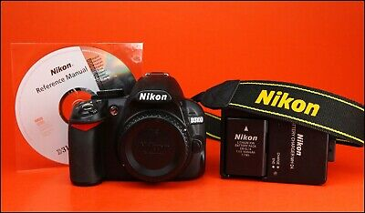 NIKON D3100 DSLR Camera Body  Sold With Battery & Charger