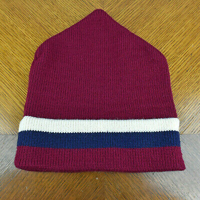 e18e0181f VERMONT ORIGINALS 100% Wool USA Made Winter Hat Old Glory Stars and ...
