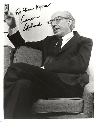 Aaron Copland - Autographed Inscribed Photograph