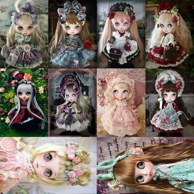 5D DIY Full Drill Diamond Painting Doll Embroidery Cross Stitch Craft Kits Decor