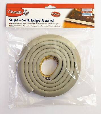 Clippasafe Super Soft Edge Guard 2M Protect Children from Sharp Edges