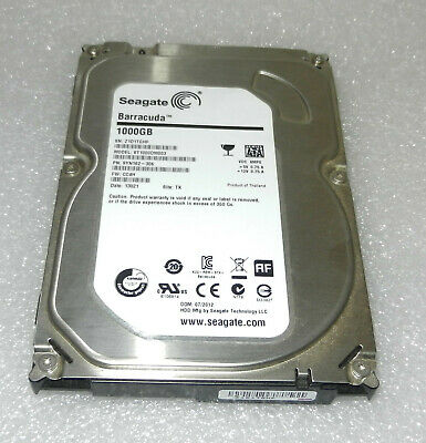 "Seagate Barracuda ST1000DM003 1TB 3.5"" SATA Internal 7200RPM 64MB HDD"