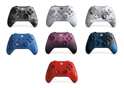 Microsoft Xbox One Controller Multiple Selection Wireless Bluetooth Windows 10