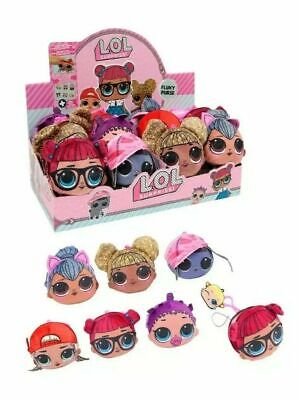 Lol Surprise Fluky Squishy Plush Girls Purse Key Chain 6 To Collect Us Seller