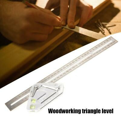 Multi-function Rulers Woodworking Triangle Ruler Stainless Steel Measuring Tool