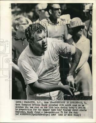 1969 Press Photo Open Golf Champion Orville Moody during the Pro Am - lrs15828