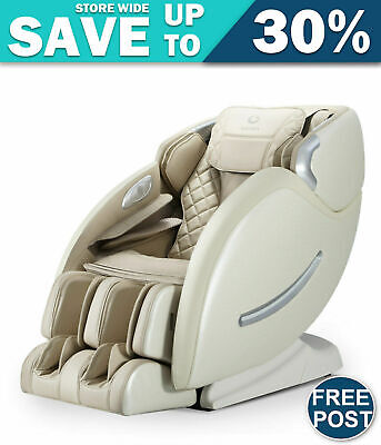 Ogawa Electric Massage Chair Recliner L-Track Foot Roller Full Body Air Bags