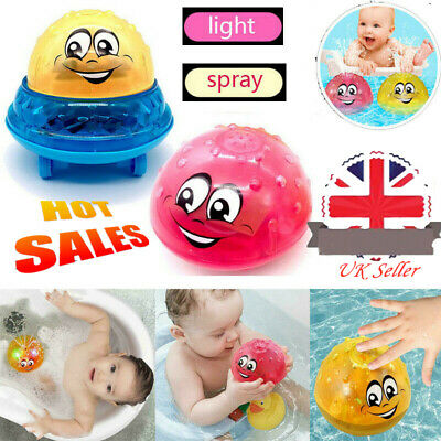Funny Infant Electric Induction Water Spray Toy Children Baby Bath Shower Toys