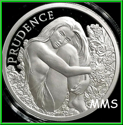 2019 1oz Prudence Proof Silver Shield MiniMintage Cardinal Virtue Series PRESALE