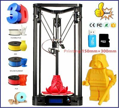 Imprimante 3D version poulie kit kossel DELTA rostock 3d delta printer BLI
