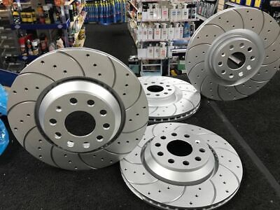 A3 Quattro 3.2 Drilled Grooved Brake Discs Rear 03