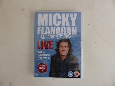 Micky Flanagan - An' Another Fing Live [DVD] Micky Flanagan (2017) new sealed.