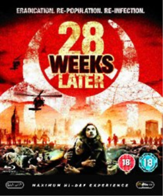Robert Carlyle, Rose Byrne-28 Weeks Later Blu-ray NEW