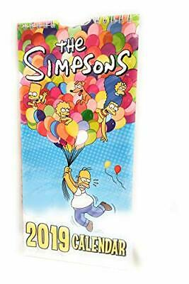The Simpsons 2019 Calendar by Danilo Book The Cheap Fast Free Post